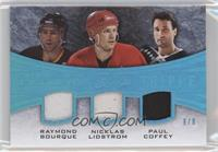 Ray Bourque, Nicklas Lidstrom, Paul Coffey /8
