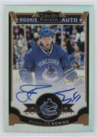 Rookie Autographs - Ronalds Kenins