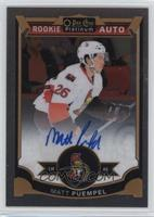 Rookie Autographs - Matt Puempel