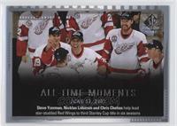 All Time Moments Multi-Player - Nicklas Lidstrom, Steve Yzerman, Chris Chelios
