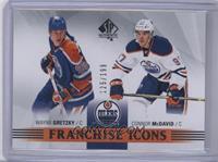 Franchise Icons - Wayne Gretzky, Connor McDavid /199