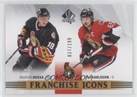 Franchise Icons - Marian Hossa, Erik Karlsson /199