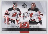 Franchise Icons - Martin Brodeur, Cory Schneider /199