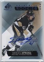 Authentic Rookies - Daniel Sprong