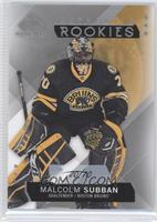 Authentic Rookies - Malcolm Subban /70