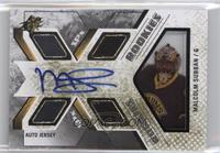 Rookie Auto Jersey - Malcolm Subban /499
