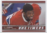 Achievement - P.K. Subban (Portrait Short Print)
