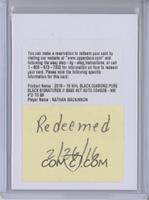 Signatures - Nathan MacKinnon /99 [REDEMPTIONBeingRedeemed]