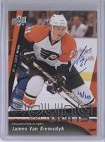 Young Guns - James van Riemsdyk (2009-10 Upper Deck) /10
