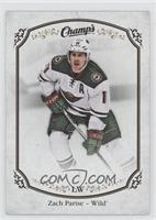 High Series Short Prints - Zach Parise