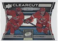 Eric Staal, Justin Faulk /25