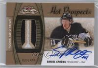 Hot Prospects Auto Patch - Daniel Sprong /499