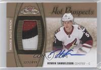 Hot Prospects Auto Patch - Henrik Samuelsson /499