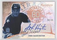 John Harrington /35