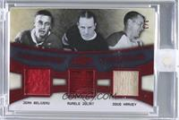 Jean Beliveau, Aurele Joliat, Doug Harvey /3 [ENCASED]