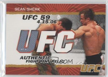 2009 Topps UFC - Authentic Fight Mat Relic - Gold #FM-SS - Sean Sherk /199