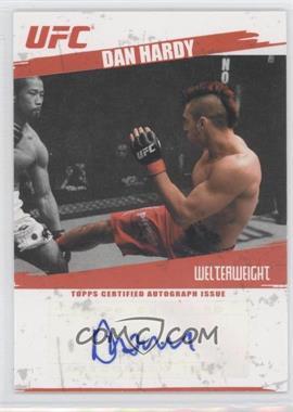 2009 Topps UFC - Autographs #FA-DHA - Dan Hardy