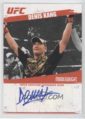 2009 Topps UFC - Autographs #FA-DK - Denis Kang