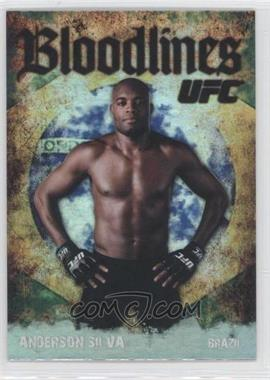 """2009 Topps UFC - Bloodlines #BL-16 - Anderson """"The Spider"""" Silva (Anderson Silva)"""