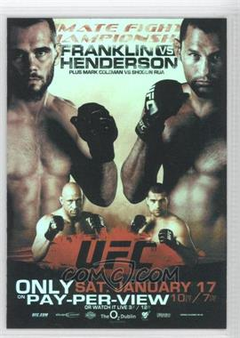 2009 Topps UFC - Fight Poster Review #FPR-UFC93 - UFC 93