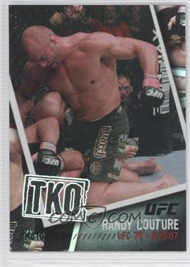 2009 Topps UFC - Photo Finish - Black #PF-21 - Randy Couture /88
