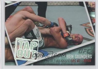 2009 Topps UFC - Photo Finish #PF-19 - Ben Saunders
