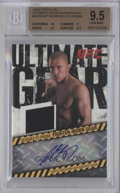 2009 Topps UFC [???] #AUG-GSP - Georges St-Pierre [BGS 9.5]