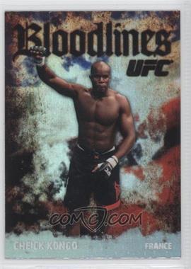 2009 Topps UFC [???] #BL-12 - Cheick Kongo