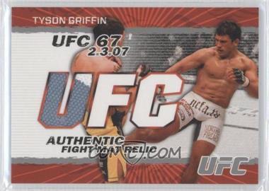2009 Topps UFC [???] #FM-TG - Tyson Griffin