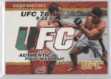 2009 Topps UFC Authentic Fight Mat Relic Gold #FM-DS - Diego Sanchez /199