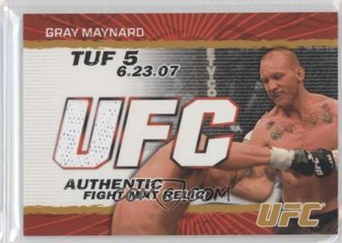 2009 Topps UFC Authentic Fight Mat Relic Gold #FM-KJ - Keith Jardine /199