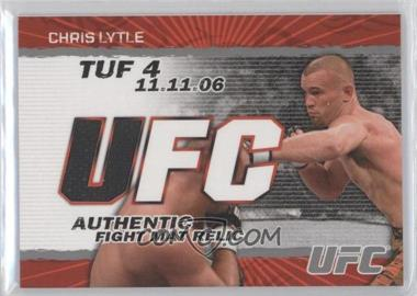 2009 Topps UFC Authentic Fight Mat Relic #FM-CLY - Chris Lytle