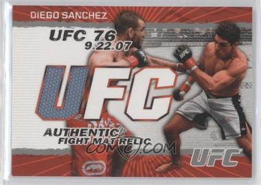 2009 Topps UFC Authentic Fight Mat Relic #FM-DS - Diego Sanchez