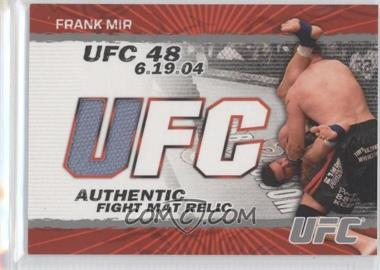 2009 Topps UFC Authentic Fight Mat Relic #FM-FM - Frank Mir
