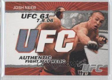 2009 Topps UFC Authentic Fight Mat Relic #FM-JN - Josh Neer