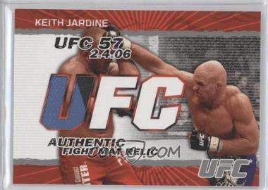 2009 Topps UFC Authentic Fight Mat Relic #FM-KJ - Keith Jardine