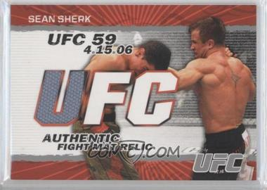 2009 Topps UFC Authentic Fight Mat Relic #FM-SS - Sean Sherk
