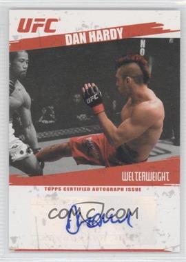 2009 Topps UFC Autographs #FA-DHA - Dan Hardy