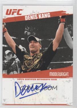 2009 Topps UFC Autographs #FA-DK - Denis Kang