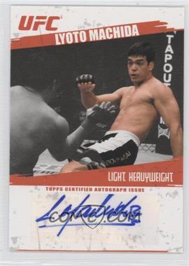 2009 Topps UFC Autographs #FA-LM - Lyoto Machida
