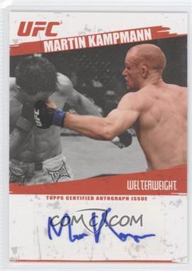2009 Topps UFC Autographs #FA-MK - Martin Kampmann