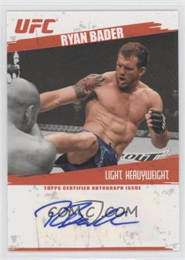 2009 Topps UFC Autographs #FA-RB - Ryan Bader