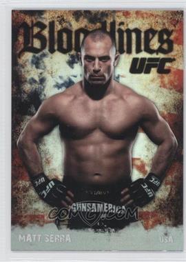 2009 Topps UFC Bloodlines #BL-13 - Matt Serra