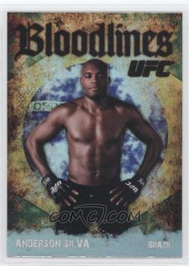 "2009 Topps UFC Bloodlines #BL-16 - Anderson ""The Spider"" Silva (Anderson Silva)"