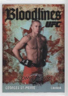 2009 Topps UFC Bloodlines #BL-5 - Georges St-Pierre