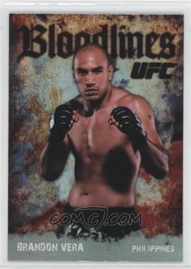2009 Topps UFC Bloodlines #BL-6 - Brandon Vera
