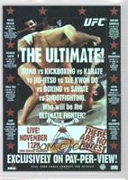 UFC 1 The Ultimate!