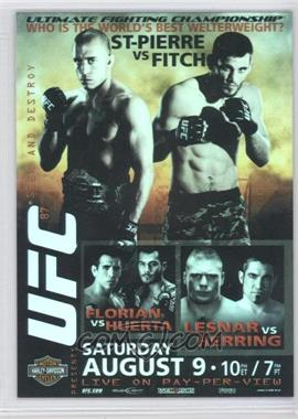 2009 Topps UFC Fight Poster Review #FPR-UFC87 - [Missing]
