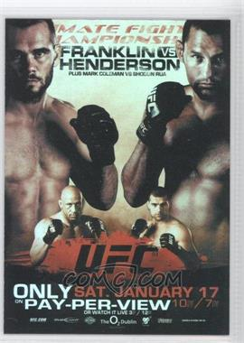 2009 Topps UFC Fight Poster Review #FPR-UFC93 - [Missing]