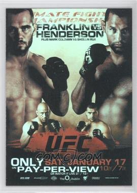 2009 Topps UFC Fight Poster Review #FPR-UFC93 - UFC 93